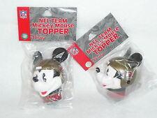 ANTENNA TOPPER Tampa Bay Buccaneers SET of 2  MICKEY MOUSE