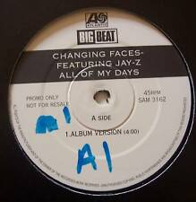 "Changing Faces FT Jay-Z tous mes jours 12"" SINGLE PROMO"