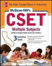 McGraw-Hill's CSET Multiple Subjects: Strategies + 3 Practice Tests by Cynthia J