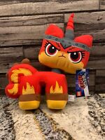 The Lego Movie 2: Angry Kitty Plush (2018) Manhattan Toy Stuffed Animal New