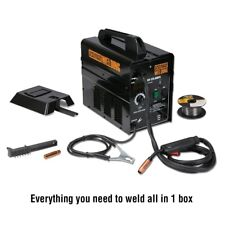 Chicago Electric Flux Core 125 AMP Welder Ready to Weld 110v 120v Free Spool
