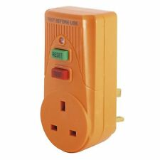 RCD Power Circuit Breaker Socket Safety Plug in Test Reset Switch Master Plug In