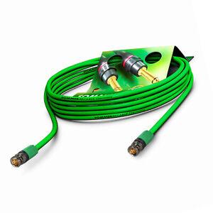 5m 12G 6G Sdi BNC Cable Verde 4K 60p UHD HD Sommer Cable Vídeo Neutrik VTGX-0500