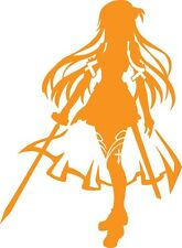 SAO Sword Art Online Asuna decal sticker