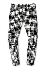 G-Star Elwood X25 3D Tapered Men's Jeans, Houndstooth Print, Size36/32