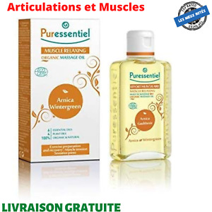 Puressentiel Articulations et Muscles Huile de Massage Bio 100 ml