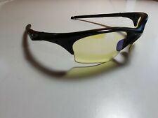 Oakley Sunglasses Half Jacket Gen 1 Jet Black Frame Hi Yellow XLJ Lens