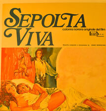 "EAST - COLONNA SONORA - SEPOLTA VIVA - ENNIO MORRICONE 12"" LP (L555)"