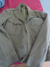 WW II US ARMY enlisted IKE jacket...no patches....shows  38R and 40L ?? ( 1944)