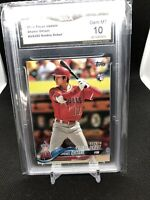 2018 Topps Update Shohei Ohtani RC #US285 GMA Gem Mint 10 Rookie Debut
