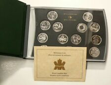 🍁 2000 Canada 25 Cents Special Edition Millenium Set Lot of 12 #4641