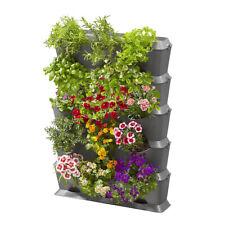 GARDENA NatureUp! Basis Set vertikal mit Bewässerungsset, Pflanzenbehälter WOW