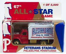 Matchbox Phillies 1996 All Star Game Veterans Stadium Ford F800 Delivery Van New