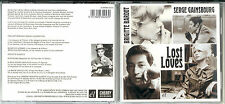 "SERGE GAINSBOURG/BRIGITTE BARDOT - ""Lost Loves"" - CD 2012 NEU/NEW"