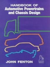 Handbook of Automotive Power Train and Chassis Design