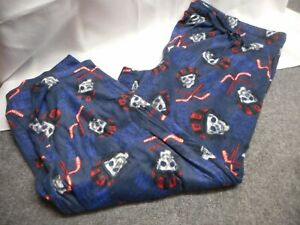 JOE BOXER Men's LOUNGING SLEEP PANTS XL HOCKEY BLUE NWOT