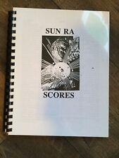 SUN RA - SCORES Sheet Music Book