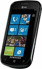 Samsung Focus SGH-i917 8GB Black (AT&T) Windows Good 8/10 #1491