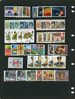 GB 1986 Commemorative Stamps, Year Set~Unmounted Mint~UK Seller