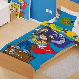 Official Horrid Henry Single Panel Pirate Duvet Cover Bedding Polycotton Gift