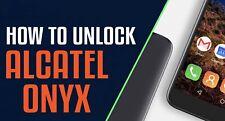Remote Unlock Alcatel 5008R / 5085C / 6060C - Alcatel Onyx / Pulse Mix / Idol 5