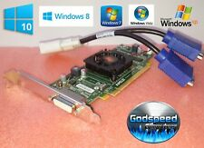 Dell OptiPlex GX280 GX620 320 330 360 380 390 HD Dual Display VGA Video Card