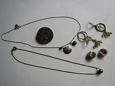 Lot of Vintage and Other Sterling Silver Jewelry