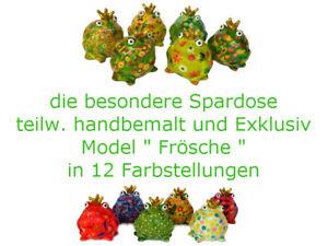 Spardose / Sparbüchse / Geldgeschenk / Hochzeit / Pomme Pidou Frösche