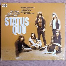 2CD NEW SEALED - STATUS QUO - VERY BEST EARLY YEARS - Rock Pop Music 2x CD Album