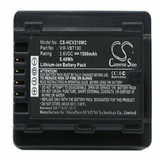 Battery for Panasonic HC-V520M V110 989 V720M Replacement Panasonic VW-VBT190