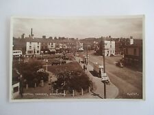 1950s REAL PHOTOGRAPHIC POSTCARD CENTRAL GARDENS MIDDLETON ROCHDALE LANCASHIRE