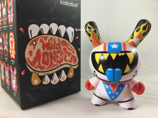 "DARE DEVIL ~ Kidrobot The WILD ONES series DUNNY Vinyl 3"" Mini Figure"