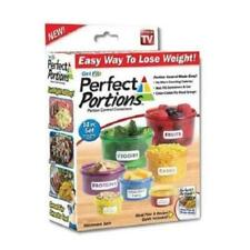 New listing Perfect Portion Control Food Storage Containers Set Kit Easy Way To Lose Weight