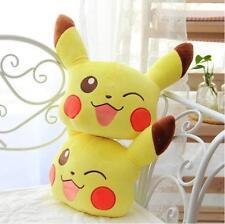 12Pcs Cute Pokémon Pikachu Car Seat Head Rest Cushion Pillows Neck Rest Pillow