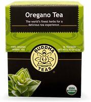 Oregano Tea by Buddha Teas, 18 tea bag 1 pack