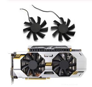 For ZOTAC EXTREME GTX670 GTX660ti GTX680 GTX 760 660Ti 680 770 GPU Cooler Fan