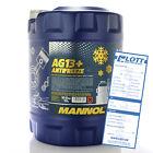 Mannol Antifreeze Kühlmittel Kühlerfrostschutz AG13+ bis -40°C 10L // MN4014-10