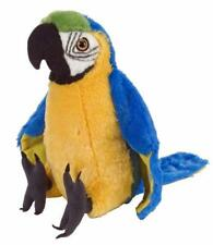 "Bird Macaw Parrot Blue/yellow soft toy plush toy stuffed animal 8""/20cm NEW"