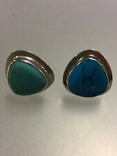 Turquoise Ring Taxco Mexican Silver