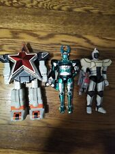 Vintage 90s Beetleborgs Power Rangers Action Figure Lot of 3