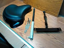 Deluxe Solo Seat Kit for Harley Big Twin, Cadmium