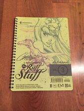 J Scott Campbell SDCC Sketchbook Ruff Stuff Vol 3 HTF Artbook