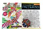 Birds Take Flight  Floral Patterns Book Adult Kids Coloring Books Set of 2 NEW