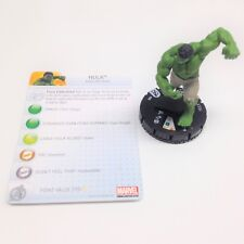 Heroclix Avengers Movie set Hulk #202 Mass Market figure w/card!