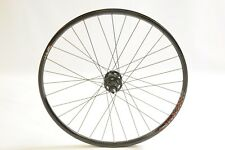 "26"" MTB REAR WHEEL SHIMANO DEORE XT M756 8,9/ 10 SPEED DISC HUB, EQUALISER RIM"