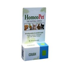 HomeoPet Cough 15ml for Dogs, Kennel Cough, Barky Cough, Wet, Dry Cough