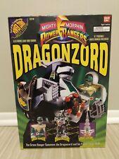 Mighty Morphin Power Rangers Dragonzord & Green Ranger Bandai 1993 SEALED 2270