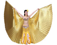 Black Pink Exotic Belly Dance Colorful Belly Dance Big ISIS Wings Costume Props