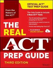 The Real ACT Prep Guide 3rd Edition by ACT Staff, 2011 WILEY PB, 9781119236412