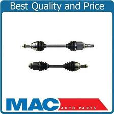 2 New Front L&R CV Axle Shafts for 05-06 Mazda 3 2.0L With Manual Transmission